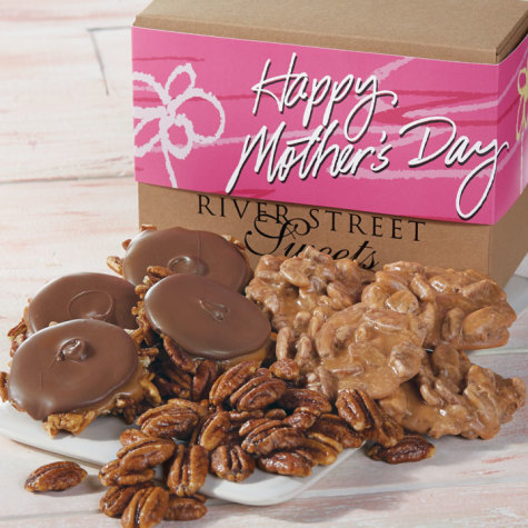 Mothers Day Collection of Pralines, Bear Claws and Glazed Pecans