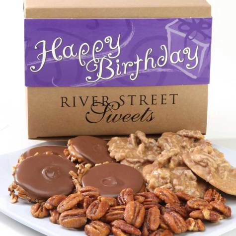 Birthday Collection of Pralines, Bear Claws & Glazed Pecans