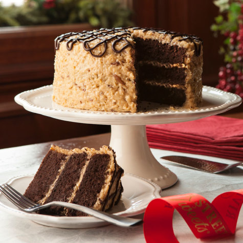 German Chocolate Cakes