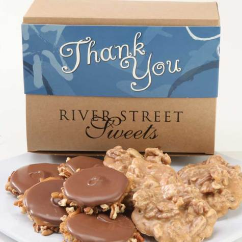Thank You Box of Pralines & Bear Claws