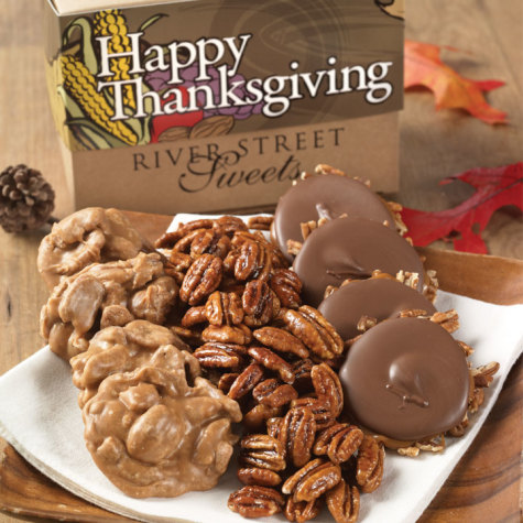 Thanksgiving Collection of Pralines, Bear Claws & Glazed Pecans