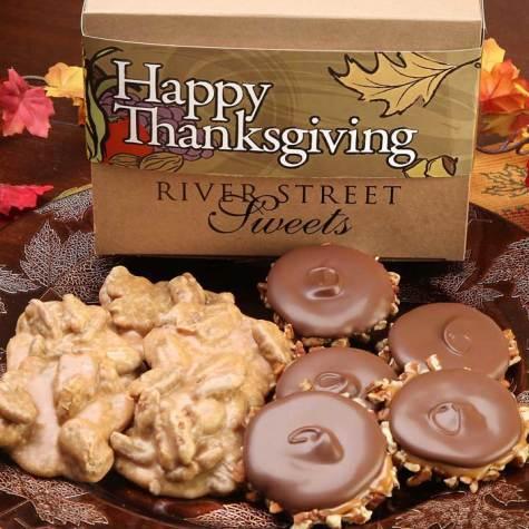 Thanksgiving Box of Pralines & Bear Claws