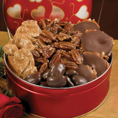 Valentine Tin of Assorted Favorites