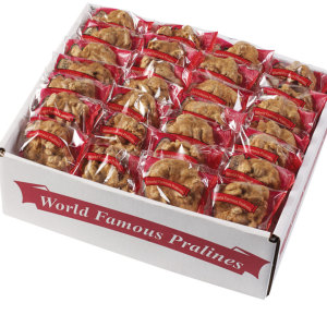 World Famous Praline Bulk Cases - Original 50 Count Half Case