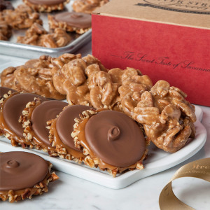 Praline & Bear Claw Combo- Classic Box - 10 Pc Praline & Bear Claw Combo- Classic Box