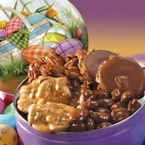 Assorted Favorites Easter Tin  - Easter Tin of Assorted Favorites 15oz
