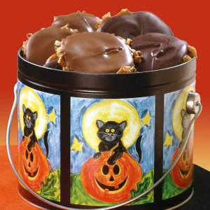 Black Cat Pail of Milk & Dark Chocolate Bear Claws