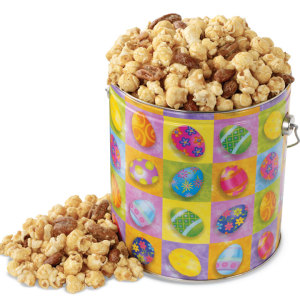 Easter Nutty Caramel Popcorn Pail