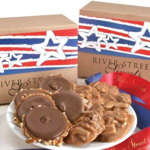Stars & Stripes Box of Pralines & Bear Claws