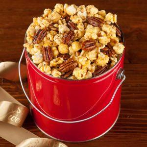 Nutty Caramel Popcorn Pail
