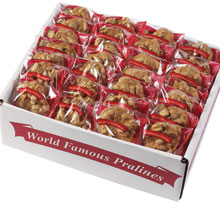 World Famous Praline Bulk Cases - World Famous Pralines 50 Count Half Case