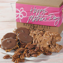 Mothers Day Assortment Box of Pralines, Bear Claws and Glazed Pecans