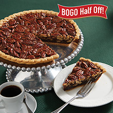 Chocolate Pecan Pies