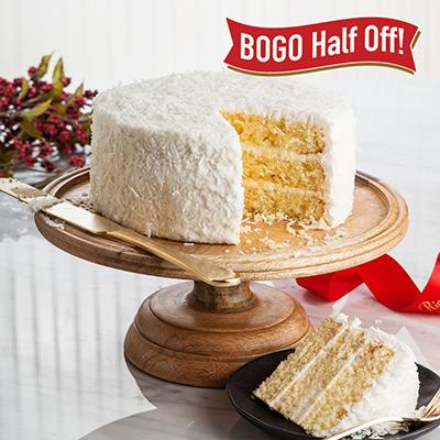 Coconut Layer Cakes