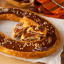 Chocolate Bear Claw Kringle