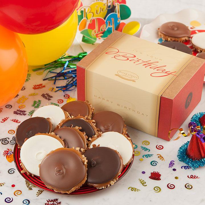 Birthday Box of Assorted Chocolate Bear Claws