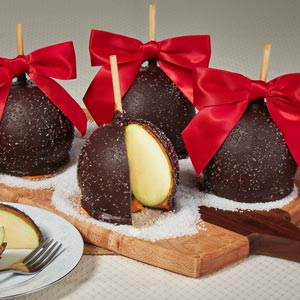 Sea Salt Caramel Apples