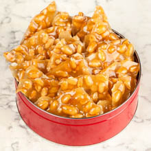 River Street Sweets Tin of Peanut Brittle