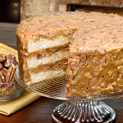 Home > New & Delicious Handmade Layer Cakes! > Praline Layer Cake