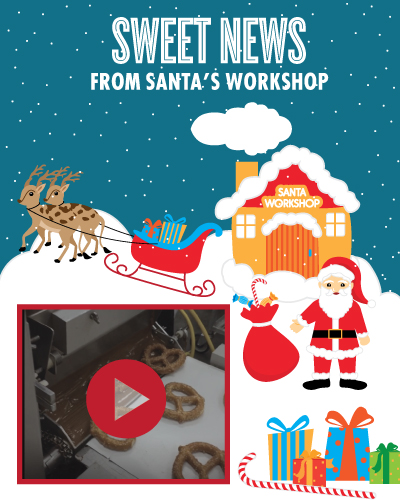 Santa's Workshop - Chocolate Covered Pretzels