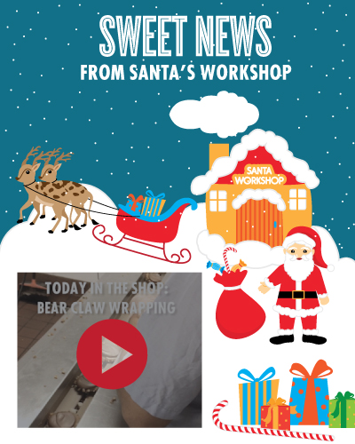 Santa's Workshop - Wrapping Bear Claws
