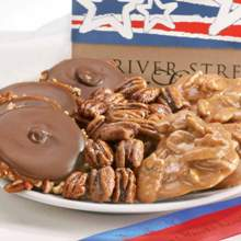 Stars & Stripes Collection - Pralines, Bear Claws & Glazed Pecans