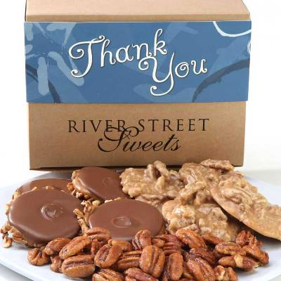 Thank You Collection of Pralines, Bear Claws & Glazed Pecans