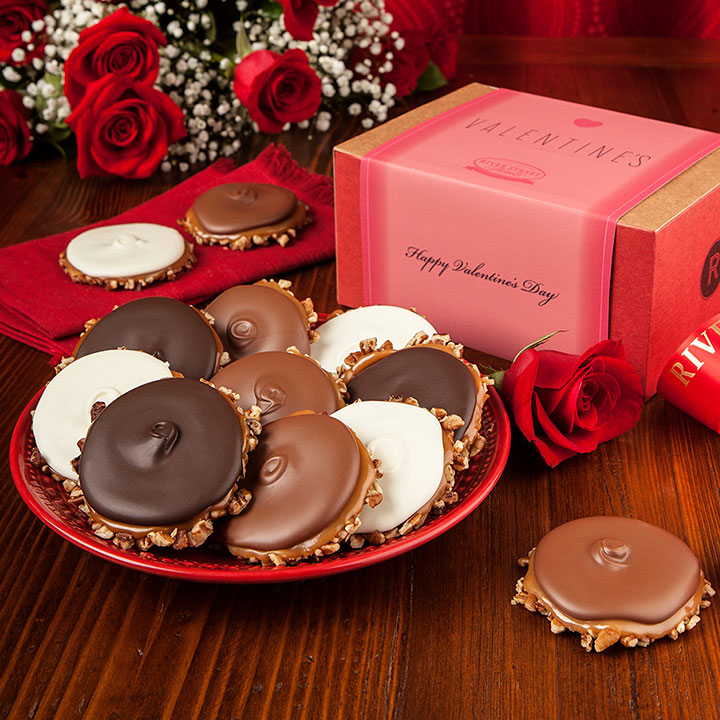 Valentine Box of Assorted Bear Claws