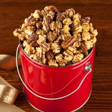 Chocolate Drizzled Nutty Caramel Signature Popcorn Pail